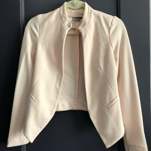 Blush Blazer with Pockets